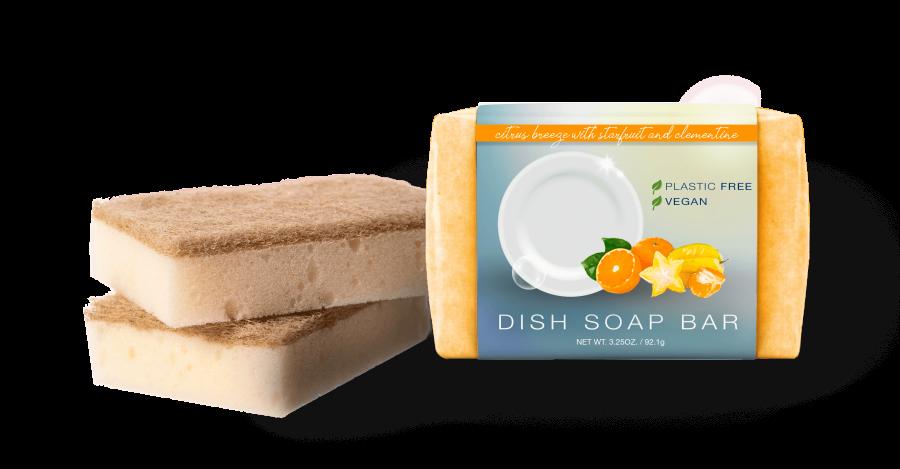 Citrus Breeze Dish Soap Bar
