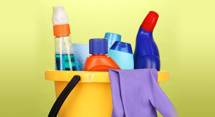 Household and industrial cleaning materials